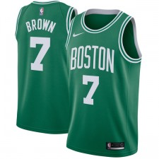 Nike Jaylen Brown Boston Celtics Vert Échangiste Maillot - Icône Édition