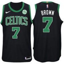 Hommes Jaylen Brown Boston Celtics &7 déclaration GE Noir Maillot