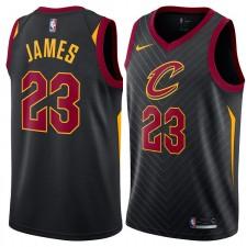 Cleveland Cavaliers Lebron James Nike NBA hommes déclaration maillot échangiste