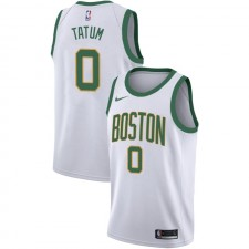 Boston Celtics Jayson Tatum ^ 0 City White Jersey