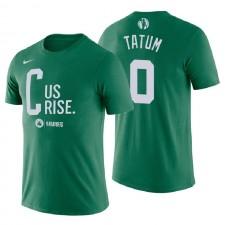 Boston Celtics pour hommes ^ 0 Tee-shirt Nom et numéro de légende des Mantra Legend de Jayson Tatum Green Tee shirt