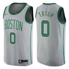 Boston Celtics ^ 0 Maillot Jayson Tatum City Series Gris Swingman