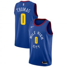 Nuggets de Denver Isaiah Thomas ^ 0 Statement Jersey bleu