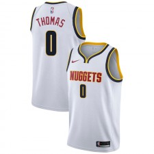 Nuggets de Denver Isaiah Thomas ^ 0 Association Wihte Jersey