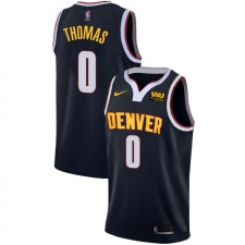 Nuggets de Denver Isaiah Thomas ^ 0 Icon Navy Jersey