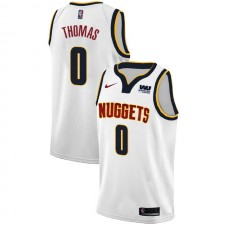 Nuggets de Denver Isaiah Thomas ^ 0 Association White Jersey