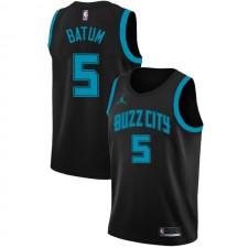 Charlotte Hornets Nicolas Batum ^ 5 City Edition Noir Jersey