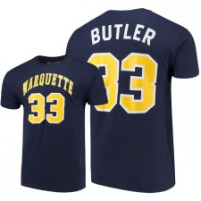 NCAA Hommes Marquette Golden Eagles ^ 33 T-shirt de Performance College Jimmy Butler - Marine
