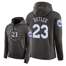 NBA Men Philadelphia 76ers ^ 23 Pullover à capuche Jimmy Butler City Edition - Gris