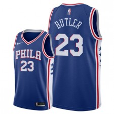 Hommes Philadelphia 76ers ^ 23 Maillot Swingman Jimmy Butler Icon Edition - Bleu