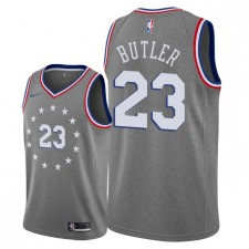 Hommes Philadelphia 76ers ^ 23 Jersey Swingman Jimmy Butler City Edition - Gris