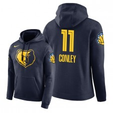 NBA Men Grizzlies de Memphis ^ 11 Pullover à capuche Mike Conley City Edition - Bleu marine