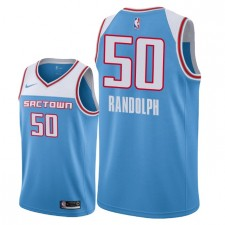 Hommes Sacramento Kings ^ Maillot Swingman Zach Randolph City Edition de 50 - Bleu