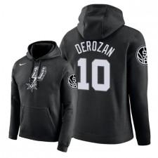 Sweats à capuche NBA Men San Antonio Spurs ^ 10 DeMar DeRozan City Edition - Noir