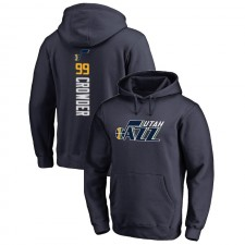 Utah Jazz Jae Crowder ^ 99 Backer Pullover Navy Sweat à capuche