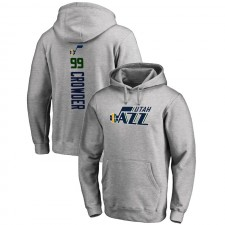 Utah Jazz Jae Crowder ^ 99 Backer Pullover Gris À Capuche