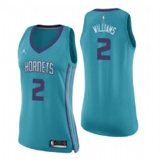 Maillot Charlotte Hornets ^ 2 pour femme Marvin Williams Icon Edition - Swingman