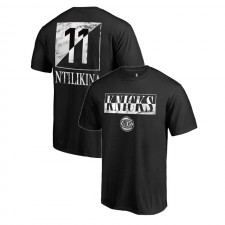 Knicks de New York, Frank Ntilikina ^ T-shirt en marbre noir 11 Yin Yang