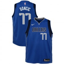 Dallas Mavericks Youth Luka Doncic ^ Maillot Icon 77 Bleu