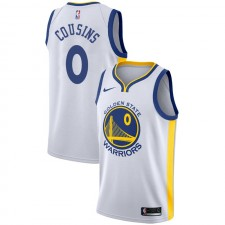Cousins ​​DeMarcus ^ 0 Association White Jersey des Golden State Warriors