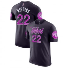 Minnesota Timberwolves Andrew Wiggins ^ T-shirt pourpre City 22