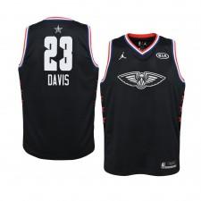 Pélicans de la Nouvelle-Orléans ^ 23 Black Anthony Davis 2019 All-Star Game Swingman Jersey Youth