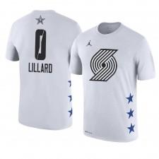 Portland Trail Blazers ^ 0 Damian Lillard Nom et numéro du match des étoiles 2019
