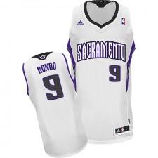 NBA Rajon Rondo Swingman Youth White Jersey - Adidas Sacramento Kings &9 Home
