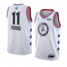 Boston Celtics ^ 11 Maillot Swingman All-Star 2019 Kyrie Irving Blanc pour Hommes