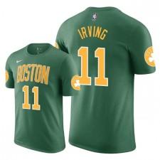 Tee shirt Hommes Celtics de Boston ^ 11 Kyrie Irving Edition - Vert