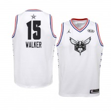Charlotte Hornets ^ 15 ans Kemba Walker White 2019 All-Star Game Swingman Jersey Jeunes