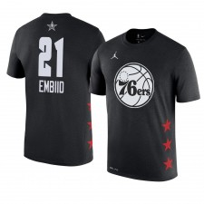 Philadelphia 76ers ^ 21 Joel Embiid All-Star Game 2019 Nom et numéro T-Shirt