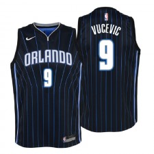 Jersey Orlando Swingman Noir pour enfants Orlando Magic ^ 9 Nikola Vucevic