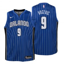 Jeunesse Orlando Magic ^ 9 Maillot Swingman Bleu Icon Edition Nikola Vucevic