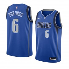 Dallas Mavericks ^ 6 Icon - Édition de Kristaps Porzingis Jersey Hommes