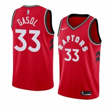 Maillots de Marc Gasol Raptors de Toronto pour hommes ^ 33 Icon -Edition