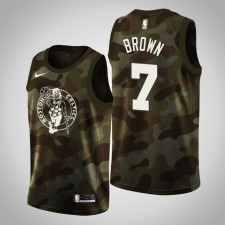 Maillot Boston Celtics Jaylen Brown ^ 7 Camo - 2019 Memorial Day