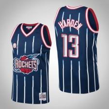 Houston Rockets James Harden ^ 13 2002-3 Maillot Swingman de Hardwood Classics - Bleu marine