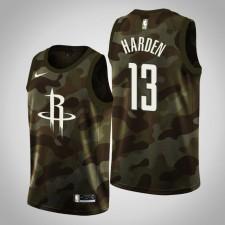 Houston Rockets Homme James Harden ^ 13 Camo Jersey Mémorial Day 2019