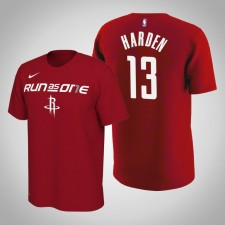 Houston Rockets James Harden ^ 13 T-shirt rouge mantra de l'équipe Bound des séries 2019 de la NBA