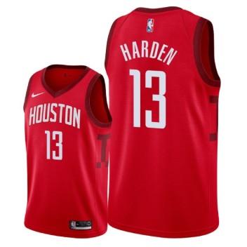 Houston Rockets pour hommes # 13 James Harden a remporté le maillot Swingman - Rouge