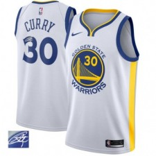 Nike signature Stephen Curry 30 & Golden State Warriors blanc Swinger maillots