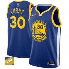 Nike signature Stephen Curry 30 & Golden State Warriors bleu Swinger maillots
