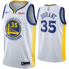 Hommes Golden State Warriors Kevin durant Nike Blanc swingman Maillot-Association édition