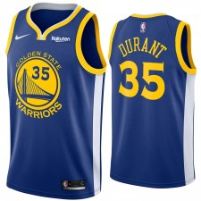 Hommes Golden State Warriors Kevin durant Nike Royal swingman Maillot-Icon édition
