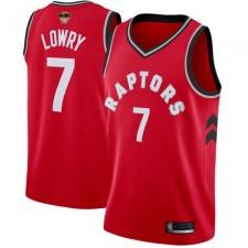 Kyle Lowry swingman maillot rouge: basketball Toronto Raptors &7 2019 de basketball finales Bound