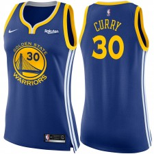 Golden State Warriors Nike Dri-FIT femme Stephen Curry &30 swingman Icon Maillot-Royal