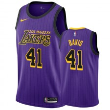Anthony Davis Los Angeles Lakers &41 - Maillot City Hommes - Purple