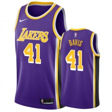 Anthony Davis Los Angeles Lakers &41 - Maillot Pourhommes - Purple