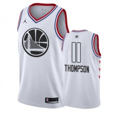 Golden State Warriors &11 Klay Thompson 2019 Blanc All-Star Maillot